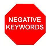 چگونه از کلمات کلیدی منفی استفاده کنیم