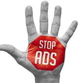 7 اصل متوقف کردن تبلیغات