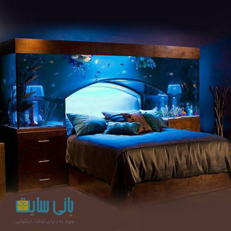 طراحی جالب اتاق خواب title=