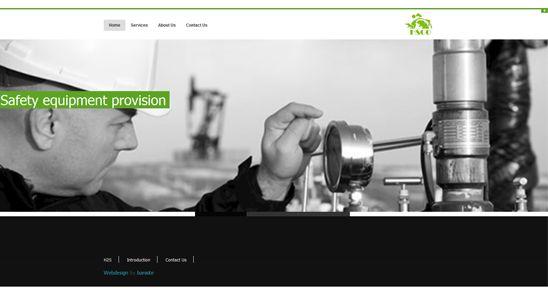 طراحی سایت کارخانه تاسیسات گاز