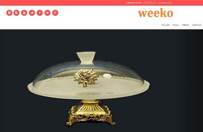 طراحی سایت شرکت لوازم خانگی ویکو