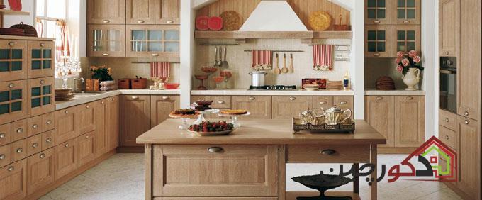 دکوراسیون آشپزخانه شیک و جذاب